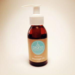 Prana Naturals: CBD & Vitamin E Massage Oil -100ml